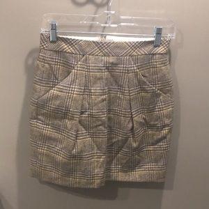 Adorable plaid JCrew skirt